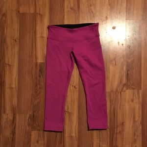 Lulu lemon Wunder Under Reversible Crop 6